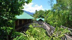 Malaysia rainforest resorts Maliau Basin Conservation Centre