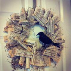 Let It Sunshine On My Mind: Raven Wreath Tutorial