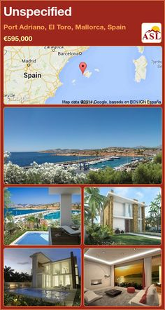 Unspecified in Port Adriano, El Toro, Mallorca, Spain ►€595,000 #PropertyForSaleInSpain