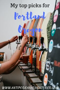 My top picks for fir My top picks for first-timers to Portland Oregon including my favorite donut place (it's not voodoo!) and the best brunch spot. Travel Guides, Travel Tips, Budget Travel, Road Trip, Us Destinations, Brunch Spots, Travel Goals, Travel Around The World, Travel Usa