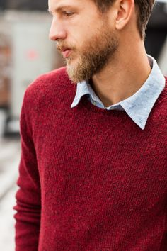 Redford vintage-inspired shirt 2013 #knit