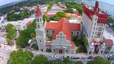 Aerial Saint Augustine