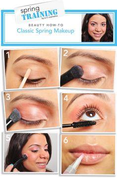 Spring makeup tios
