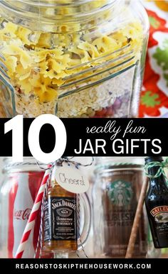 DIY Gifts in a Jar: