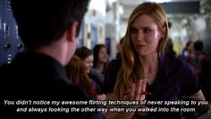Your idea of flirting is typically way too small … | 24 Signs Dating Isn't For You