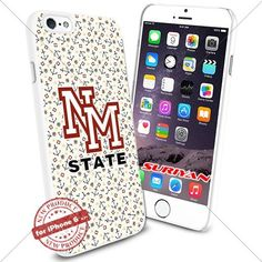 New iPhone 6 Case New Mexico State Aggies Logo NCAA #1370 White Smartphone Case Cover Collector TPU Rubber [Anchor] SURIYAN http://www.amazon.com/dp/B0150476K2/ref=cm_sw_r_pi_dp_.ZIzwb1BFETGB