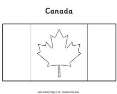 Canadian colouring sheets!