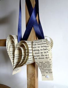 Wedding decoration x 10 navy recycled books by bookity on Etsy