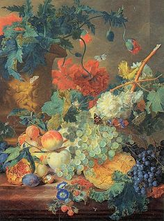 Fruit and Flowers c.1720  Jan van Huysum  The Wallace Collection London United Kingdom