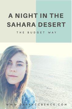 A Night in the Sahara Desert