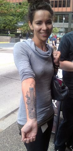 The Girl with the #Photoshop Tattoo