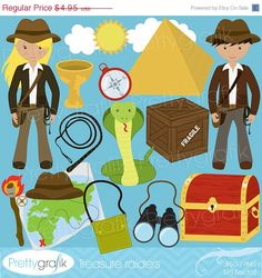 80 OFF SALE Explorer clipart commercial use by Prettygrafikdesign  https://www.etsy.com/listing/153737037/80-off-sale-explorer-clipart-commercial?ref=shop_home_active_8