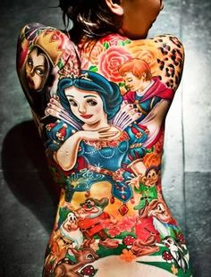 Wow, wonderful Disney Tattoos!