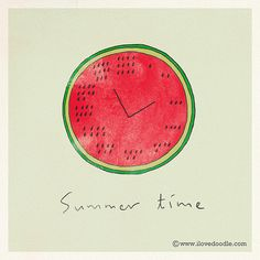"""Summer time"" by Lim Heng Swee aka ilovedoodle"