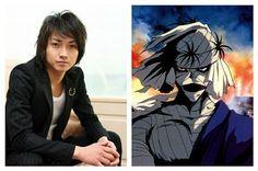 Makoto Shishio(Tatsuya Fujiwara) de Rurouni Kenshin 2