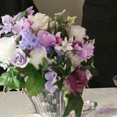 Closeup of Floral Arrangements