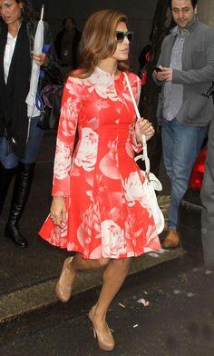 nice Celeb Street Style: Eva Mendes