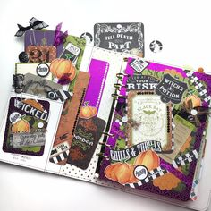 Witchy A5 Planner Layout