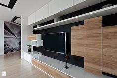 mieszkanie w Olsztynie - Średni salon, styl nowoczesny - zdjęcie od ap. studio architektoniczne Aurelia Palczewska-Dreszler