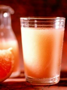 Burn Fat with Dr. Oz's Secret Slim Down Drink: mix 1 cup of grapefruit juice with 2 tablespoons of apple cider vinegar. (If it's too bitter, stirring in a teaspoon of honey, which will only add 20 extra calories). Try it Today: Drink a shot before every meal to start painlessly melting away those extra pounds.