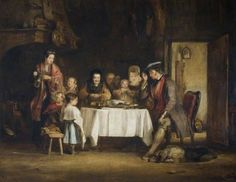 Grace before Meat by David Wilkie  (Scottish 1785-1841)
