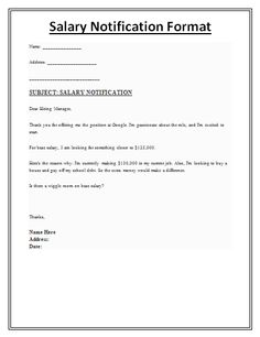A Salary Verification Letter Is An Official Letter Issued By