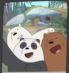 Occupy Bears Occupy Bears is the episode of the first season of We Bare Bears. Ice Bear We Bare Bears, 3 Bears, Cute Bears, Funny Panda Pictures, Cartoon Profile Pictures, Bear Wallpaper, Disney Wallpaper, We Bare Bears Wallpapers, Bff Drawings