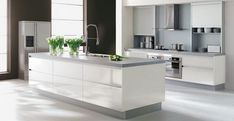 Contemporary White Kitchen Designs