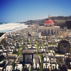 Cementerio Maria Magdalena. Old San Juan, Puerto Rico