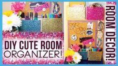 DIY Cute Room Organizer! Room Decor Decorations