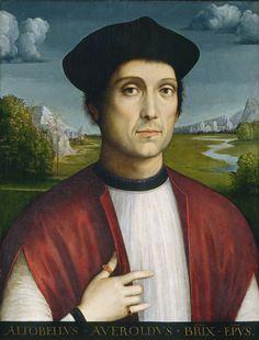 Francesco Francia, Bishop Altobello Averoldo, c. 1505, Washington, National Gallery of Art