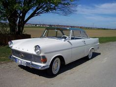 The 1962 Opel Record Coupe