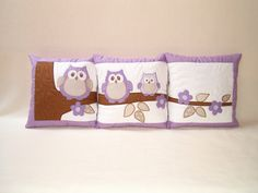 Owl Pillow Covers.