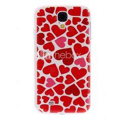 USD $ 2.99 - Heart Pattern Hard Case for Samsung Galaxy S4 I9500