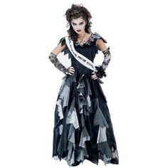 Womens Zombie Prom Queen Costume « Dress Adds Everyday
