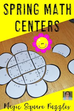 Are you looking for addition math centers to help your students master their basic math facts this spring? Look no further! This addition math center is perfect for your 1st, 2nd, or 3rd grade students. Use them for test prep, review, early or fast finishers, critical thinking skills, or math centers. Your students will love this hands-on, engaging way to practice their basic facts. Plus you get three different puzzles! First, second, and third grade teachers will all love these! $