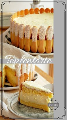 Strudel, Cream Cake, Baking Recipes, Tiramisu, Biscuits, Bakery, Cheesecake, Food And Drink, Cookies
