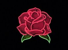 'Neon Pink Rose' Sticker by emilylau Cactus E Suculentas, Lizzie Hearts, Neon Licht, Neon Words, Neon Design, All Of The Lights, Neon Light Signs, Neon Glow, Luz Led