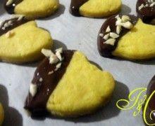 Biscottini vaniglia, cioccolato e mandorle!!!!!