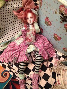 Val 's doll at IDEX 2012