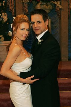 The wedding of Lauren Fenmore to Michael Baldwin on The Young And The Restless