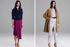 Add yummy texture to your outfit: Lyn Devon, fall 2012