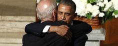 President Barack Obama hugs Vice President Joe Biden during funeral services for Biden's son, Beau Biden on Saturday, at St. Anthony of Padua Church in Wilmington, Del. Beau Biden, Joe Biden Son, Jill Biden, Barack Obama, Coldplay Chris, Obama And Biden, Hillary Rodham Clinton, Best Husband, Documentary Photography