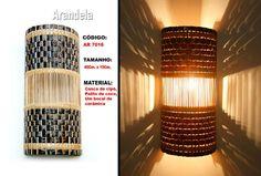 luminarias estilo rustico - Pesquisa Google