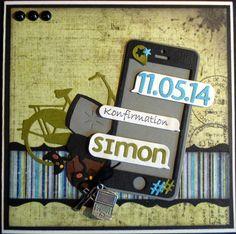Slipsager scrapbooking & Cards: Lige et par konfirmationskort mere