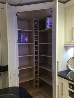 tall corner pantry cabinet for small kitchen | Simple Kitchens ...