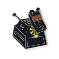 K-9 from the Doctor Who Enamel Lapel Pin