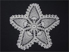 crocheted star