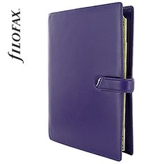 Filofax Boston A5 Purple