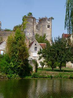 Montrésor , le village et le château , Indre et Loire by Lionel Francés on Flickr.